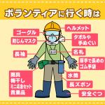 熊本地震 ボランティアをお考えの方へ(6/1更新)