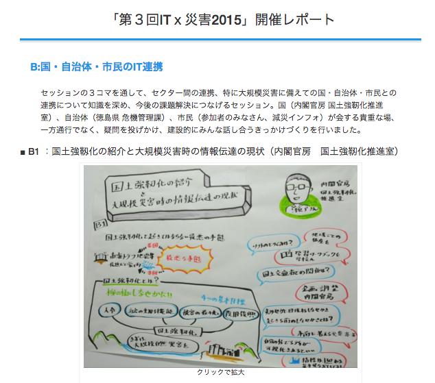 IT×災害会議2015